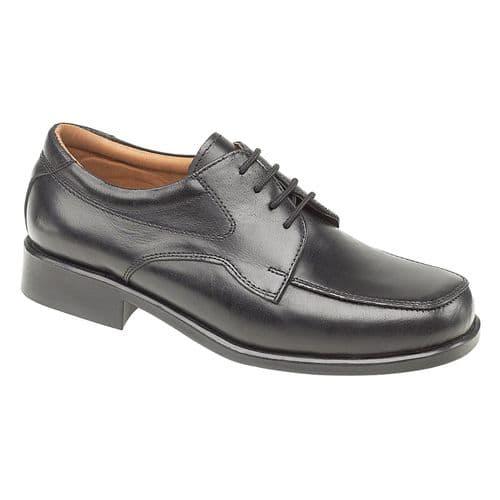 Amblers Birmingham Lace Mens Shoes Black